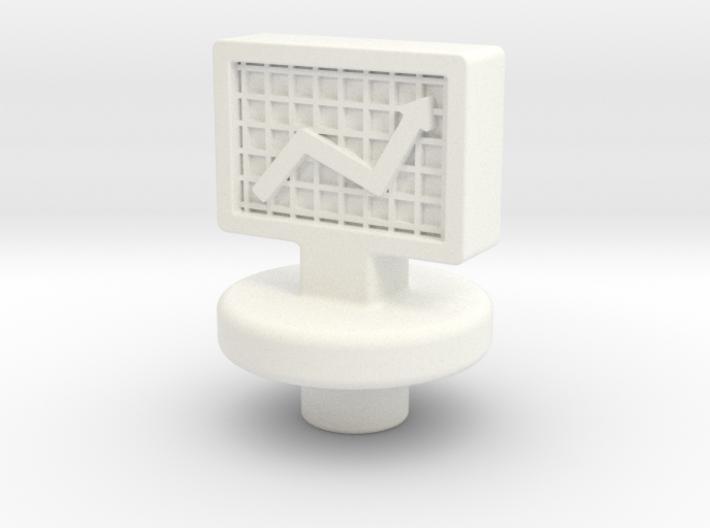 Stock Token 3d printed