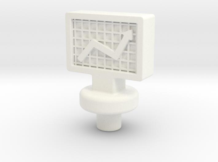 Stock Token 2x 3d printed