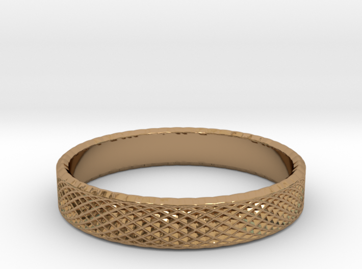 0227 Lissajous Figure Ring (Size15.5, 24.2 mm)#032 3d printed