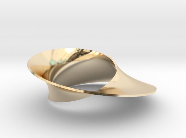 Mobius strip minimal surface 3d printed