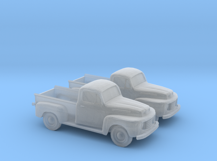1/160 2X 1948-52 Ford Pickup 3d printed