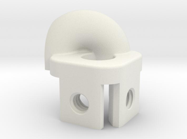 """8020 1"""" Recirculating Ball Bearing Cap - End 2 3d printed"""