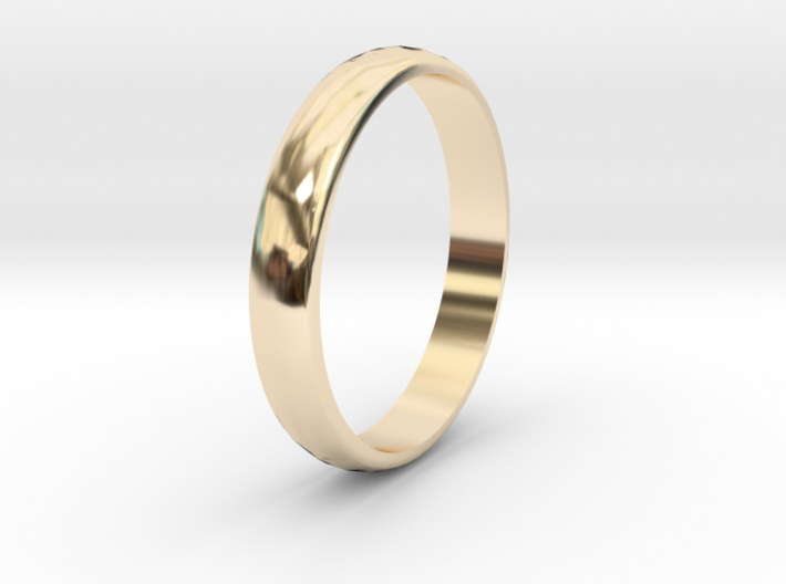 Ring Size 6 3d printed