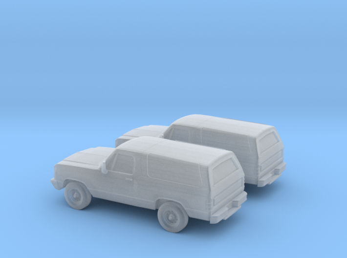 1/160 2X 1993 Dodge Ramcharger 3d printed