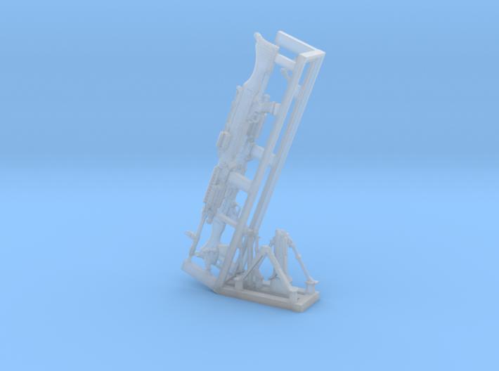 1/24 SPM-24-009 m240 machine gun 3d printed
