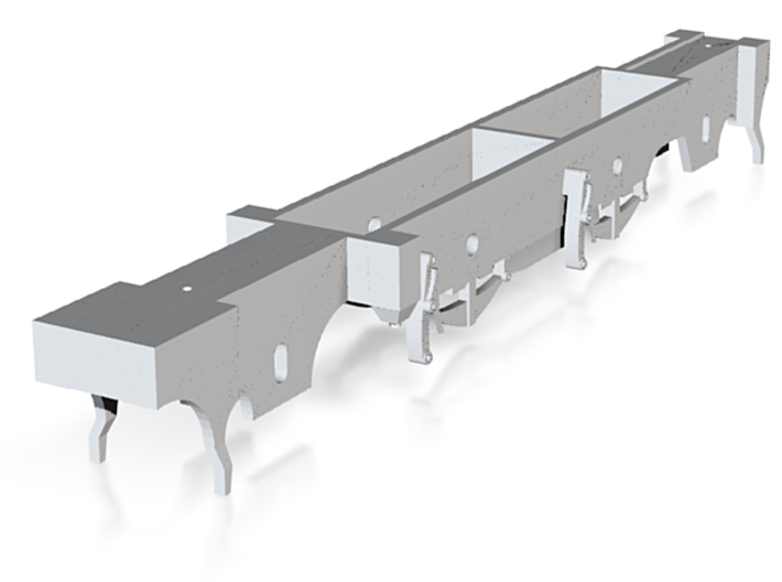 Spare chassis block for our LNER F4, 5, and 6 kits 3d printed