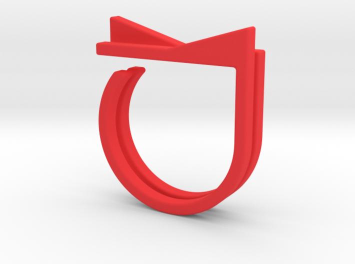 Adjustable ring. Basic set 4. 3d printed