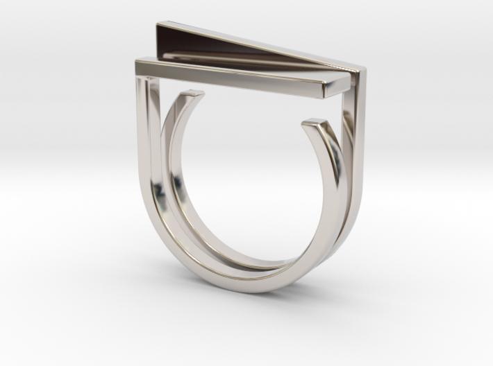 Adjustable ring. Basic set 5. 3d printed