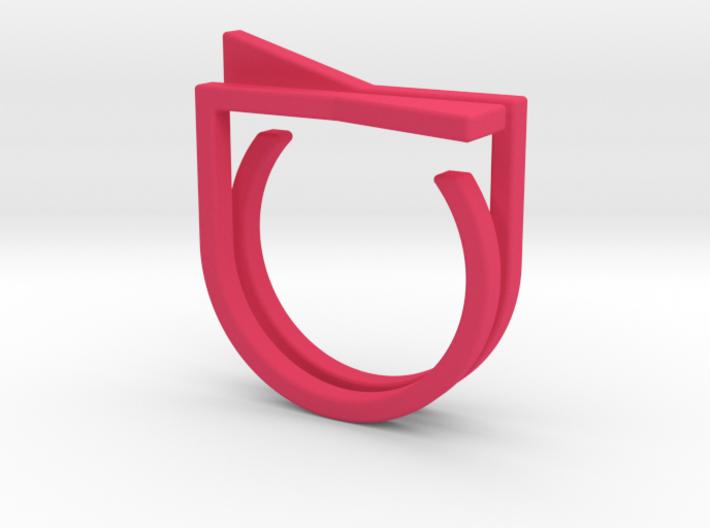 Adjustable ring. Basic set 8. 3d printed