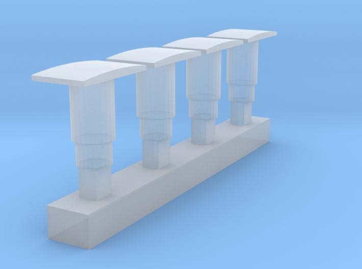 Mehano NMBS SNCB Reeks 77 Buffer - Type I 3d printed