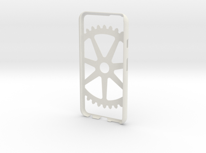 Iphone 6 Case- Cog pattern 3d printed