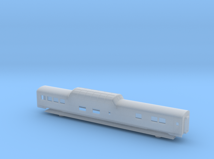 GN Lightweight Dome Car - Zscale 3d printed