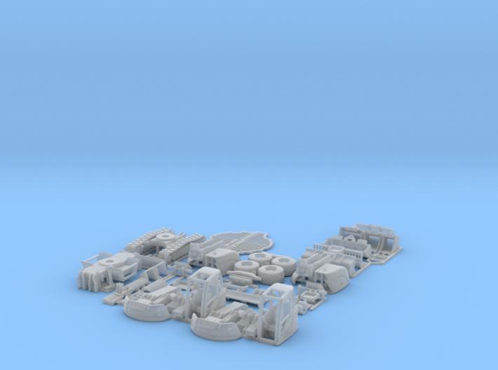 Lenni-14tExcavatorSet 3d printed