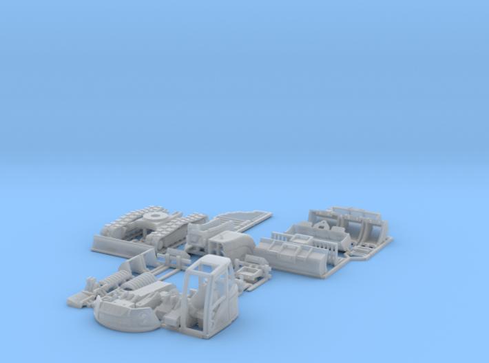 Lenni-14tTrackedExcavatorSet 3d printed