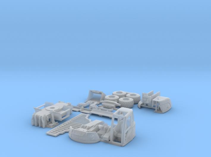 Lenni-14tWheeledExcavator 3d printed