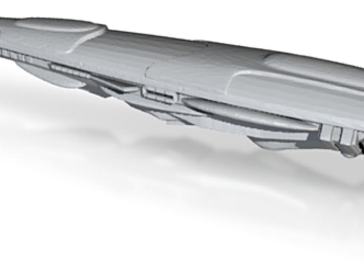 Sa'Ami BattleCruiser Starship - 1/2 Scale 3d printed