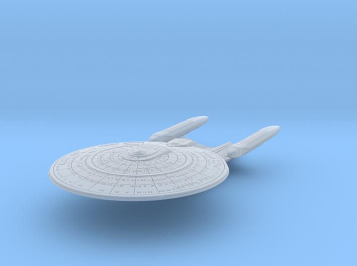 SF Diplomatic Cruiser Prototype 1:7000 3d printed