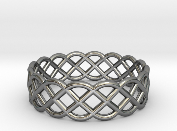 Ring - Celtic Infinity Design 3d printed