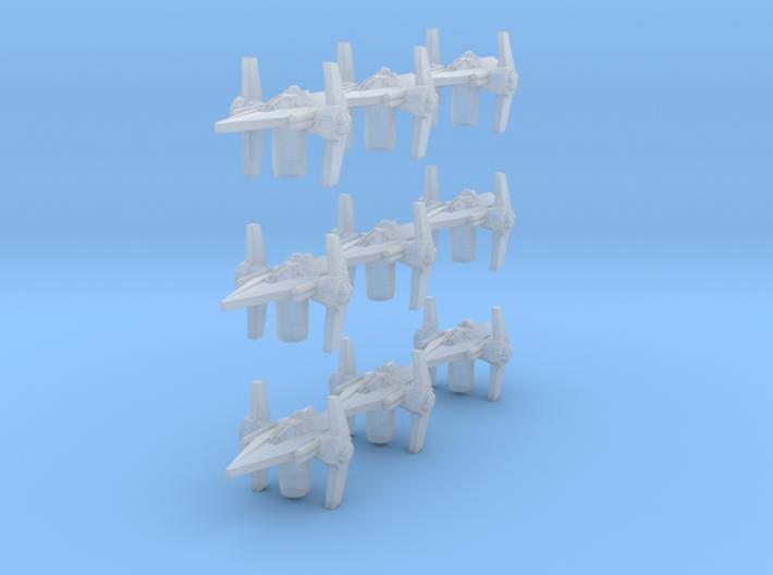 Arm 9 V Fighter 3d printed