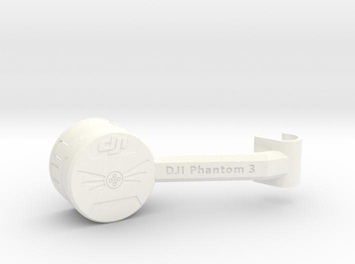 DJI Phantom 3 Gimbal Lock / Lens Cap 3d printed