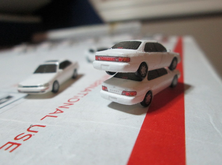 n scale 1992-1996 toyota camry 5 pack 3d printed top: 94 bottom: 96