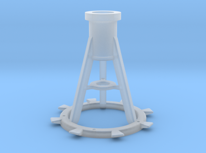 1:35 scale 20mm Pedestal, Late 3d printed