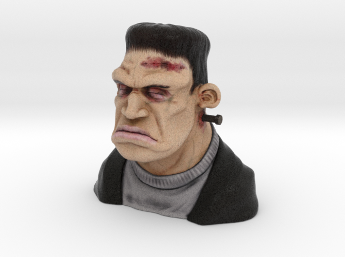 Frankie Figurine Bust Hollow 9cm Height 3d printed