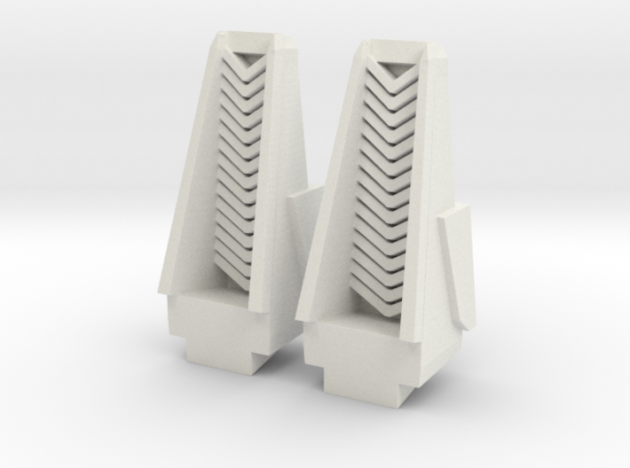 Transformers Leader Class Seeker Intakes Set 3d printed
