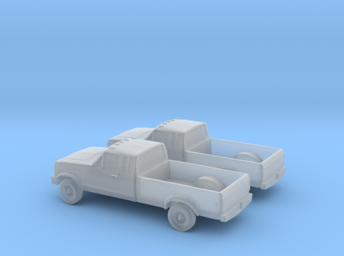 1/160 2X 1989 Ford F- Series Extendet Cab 3d printed