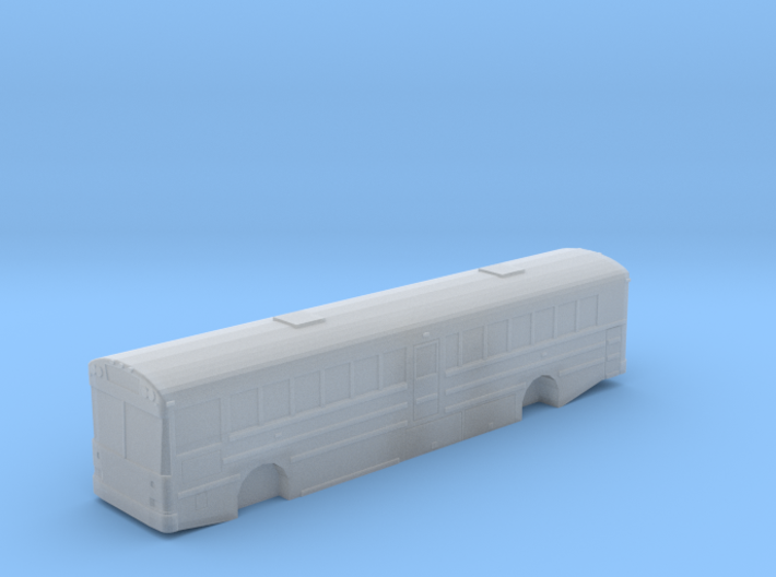 n scale school bus 2015 international/ic re 300 3d printed