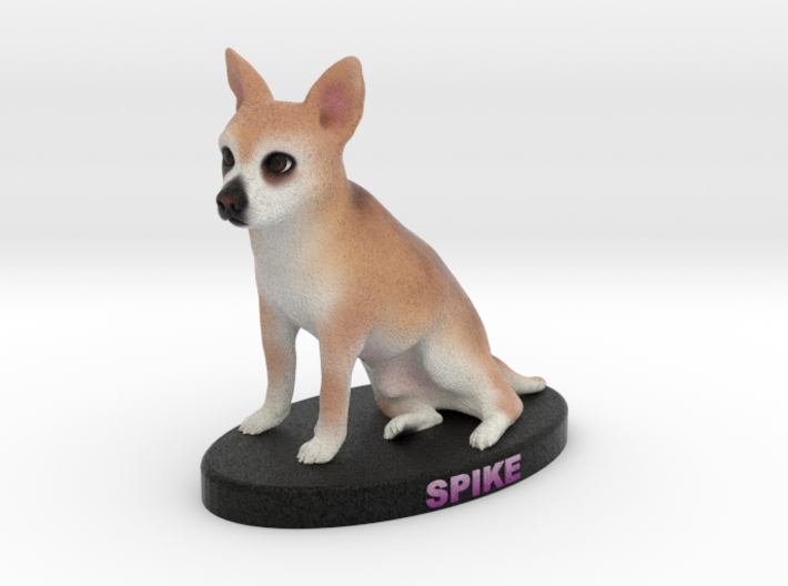 Custom Dog Figurine - Spike 3d printed