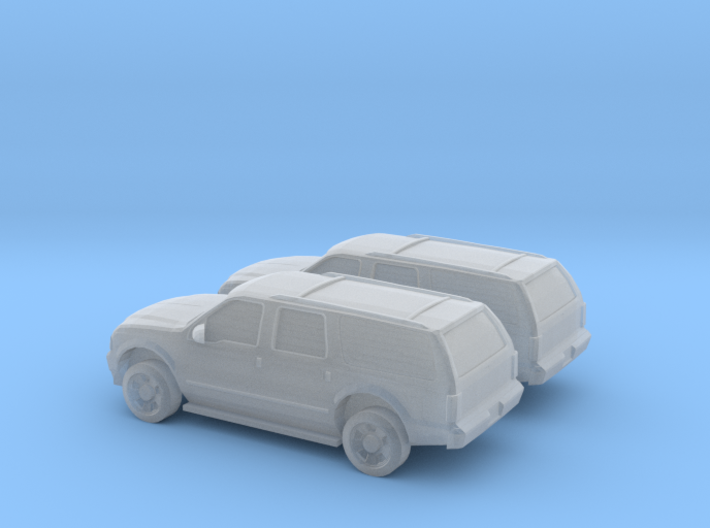 1/160 2X 2003 Ford Excoursion 3d printed
