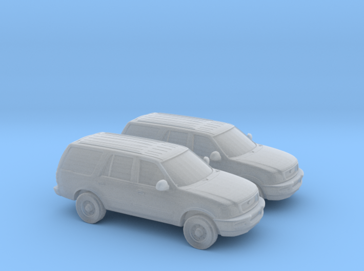 1/160 2X 1999 FORD EXPEDITION 3d printed