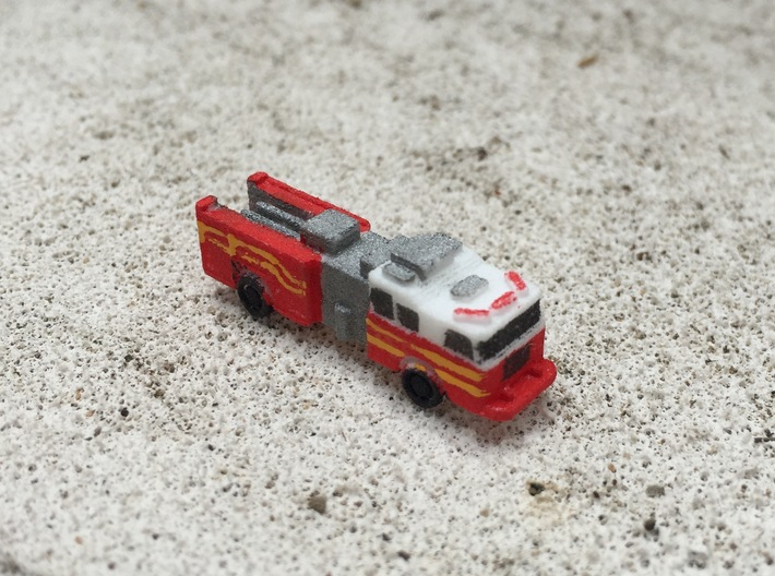 Seagrave Squad 1:285 scale 3d printed
