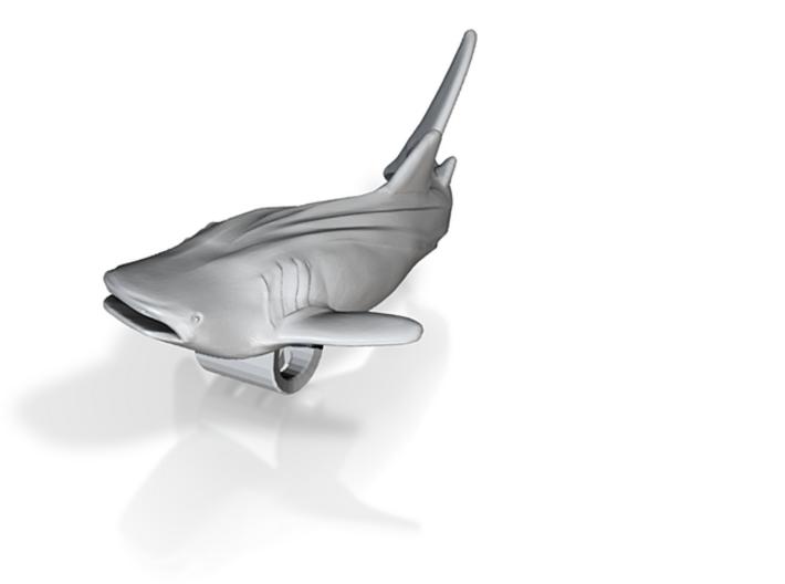 Whale Shark Pendant 3d printed 3D whale shark model by ©2012-2013 RareBreed