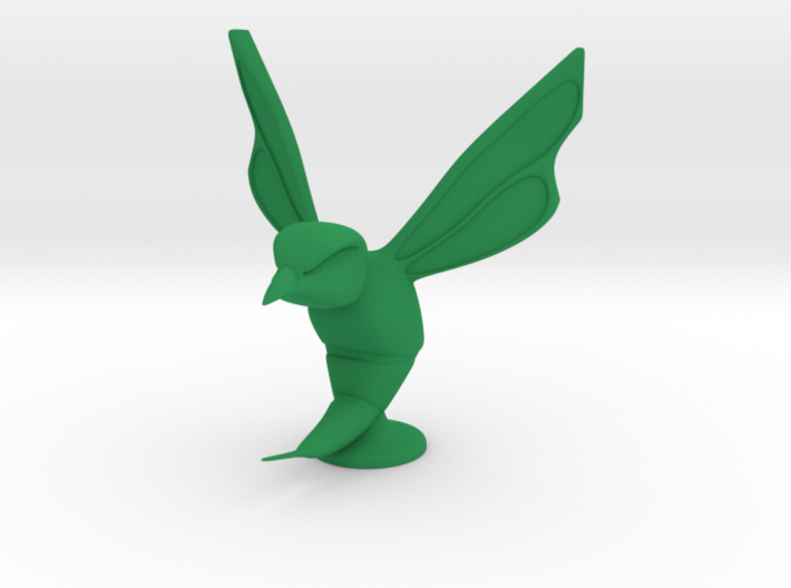 Hornet Hood Ornament 3d printed