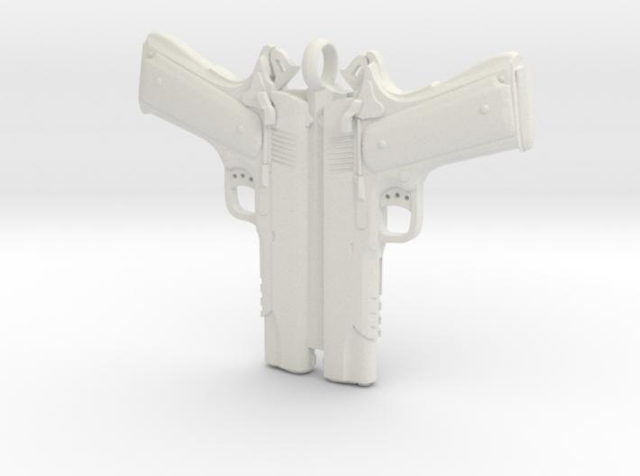 Colt 1911 Pendant 3d printed