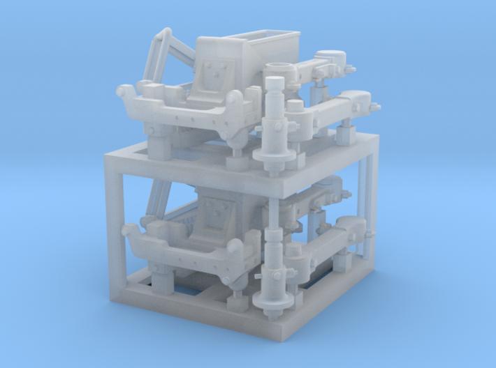 1/35 SPM-35-024 MSG SA4 Swing Arm. x2in set. 3d printed