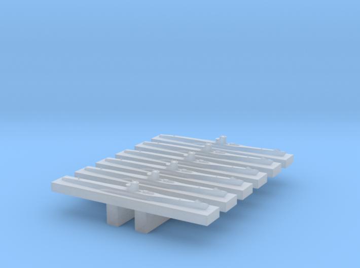 Type VIIC U-Boat 1/4800 x6 3d printed