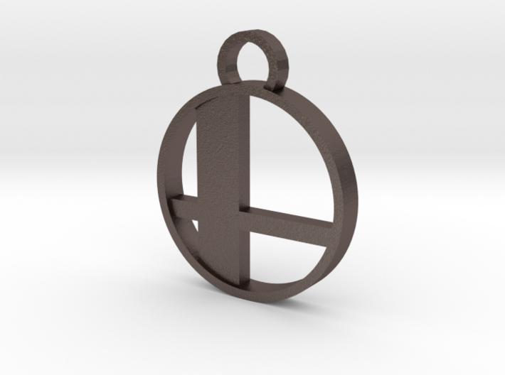 Smash Keychain 3d printed