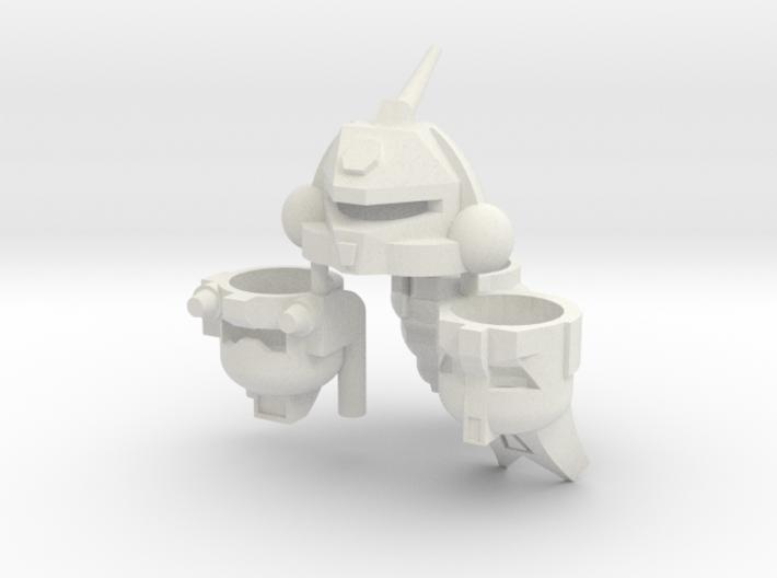 Robohelmets: Deluxe Bugs 3d printed