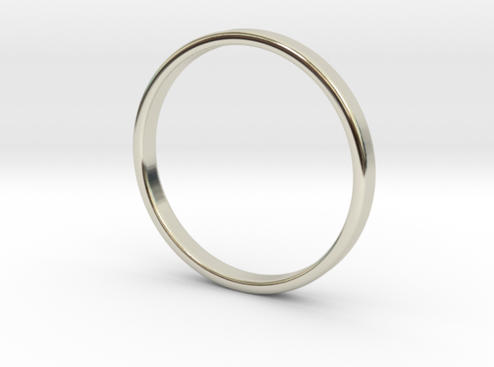 Ring for Cyndi size 7 (2mm wide,1.2mm thick) 3d printed