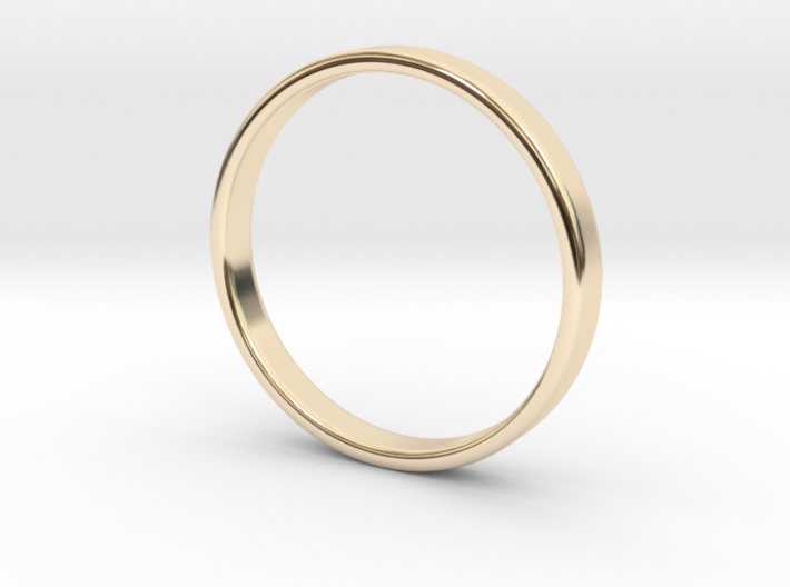 Ring for Ed - Size 12 (3mm wide, 1.2mm thick) 3d printed