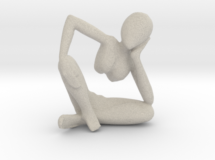 Small African Sculpture 3d printed