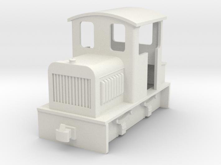 009 small Endcab diesel 1 3d printed