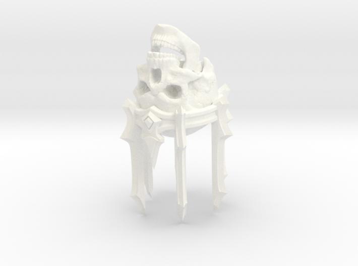 SL01-Head-04 LICH  7inch 3d printed