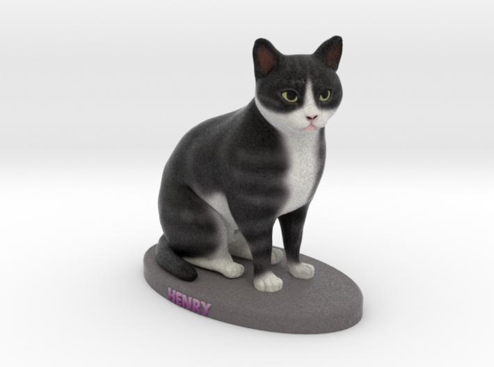 Custom Cat Figurine - Henry 3d printed