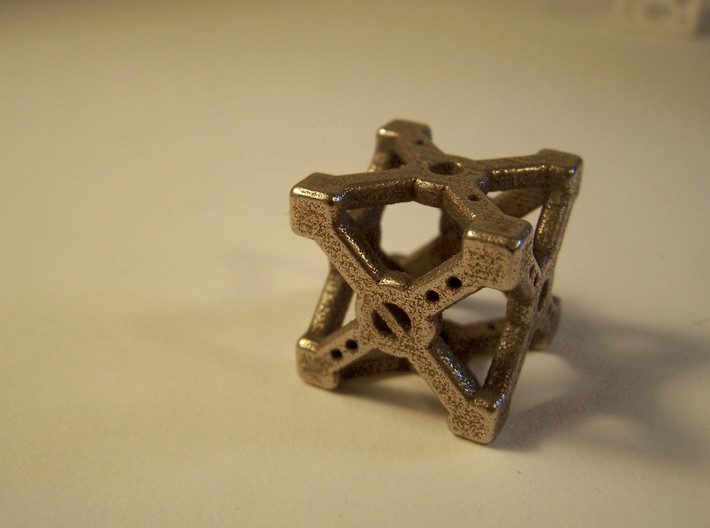 Cross D6 Die 3d printed