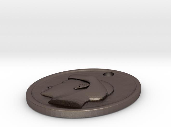 Renaissance  stile pendant 3d printed