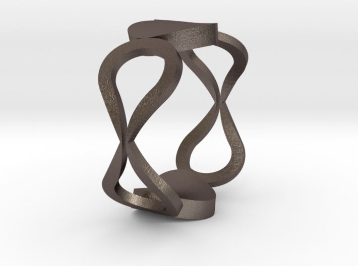 InfinityLove ring Size 54 3d printed